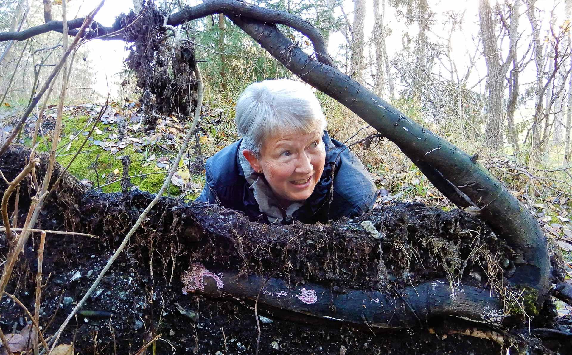 12.plass - Turid Stubergh - selfie i skogen