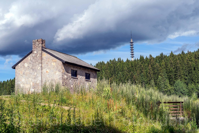 Nr.21 - Steinhuset på Stemmer`n, 70x50cm-Edit