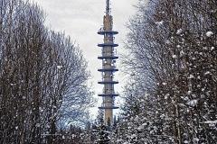 Nr.23 - Tårnet på Røverkollen, 29,7x42,0 cm
