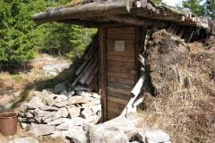 Nr.3Fjellhaug-gammen syd for Aurevann, 42,0x29,7